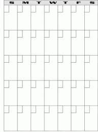 free printable calendar template pinterest free