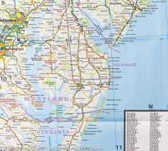 Cape Henlopen State Park Map by Map Of North Eastern Usa Usa 4 Reise Know How U2013 Mapscompany