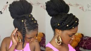 black hair buns for sale bun twists on 4c natural hair protective style youtube