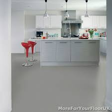Vinyl Kitchen Flooring by Plain Grey Vinyl Flooring 3m Wide Anti Slip Quality Lino Cheap