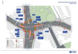 we are improving safety at camberwell green junction as part of