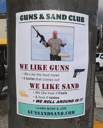 Loud Noises Meme - dopl3r com memes guns sand clu we like guns e we like the