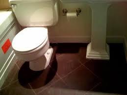 Bathroom Floor Tile Ideas Chocolate Brown Bathroom Tiles Ideas And Pictures
