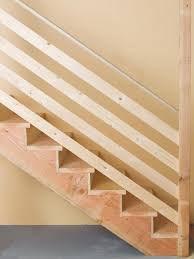 Plywood Stairs Design How To Install Basement Stairs How Tos Diy