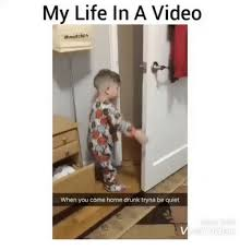 Meme Video Clips - my life in a video ahood clips when you come home drunk tryna be