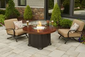 Patio Furniture Sets With Fire Pit by Firepit Tables Custom Pool Builder Venice Florida New Pool