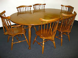 Maple Dining Room Table And Chairs Captivating Dining Room Themes About Ethan Allen Heirloom Fiddle