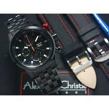 Jam Tangan Alexandre Christie Cowok jam tangan alexandre christie ac 6163 pria black original