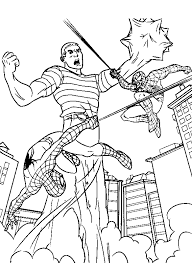 kids fun 28 coloring pages spiderman 3