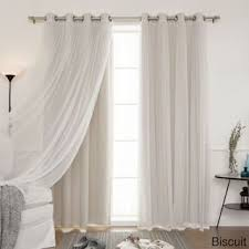 Thick Black Curtains Blackout Curtains Drapes For Less Overstock