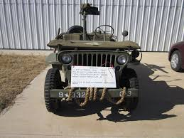 military jeep front 2016 honor a veteran the caf lobo wing