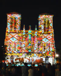 laser light show san antonio seeing san fernando cathedral in a new light postcards from san