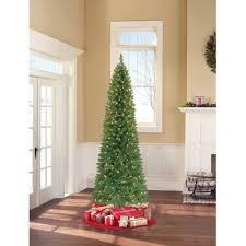 time 7 5ft pre lit winter pine tree walmart