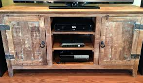 Tv Stand Furniture Furniture White Reclaimed Wood Tv Stand With Shelves And Drawers