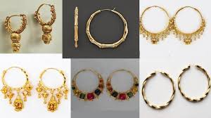 hoop rings many different types and shapes of hoop earrings