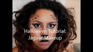 halloween leopard makeup tutorial halloween tutorial jaguar youtube