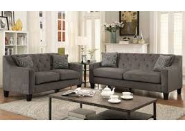 Chenille Sofa And Loveseat Living Room Broadway Furniture