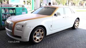 roll royce ghost white rolls royce ghost don casanova edition in matte gold white youtube