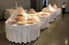 wedding cookie table ideas what s a wedding without 18 000 cookies in 150 varieties made by 45