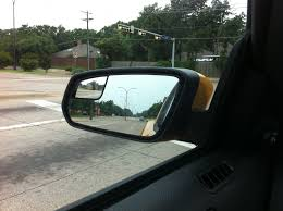 Blind Spot Side Mirror Integrated Blind Spot Mirror On 2011 Mustang More Trouble Than Its