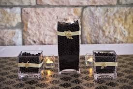 Black Square Vases Table Stylist Courthouse Restaurant