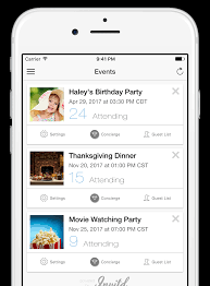 invitd invitations by text message for ios and android