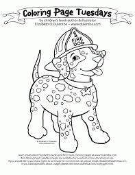 genius free dog safety coloring pages rehearsal sparky fire