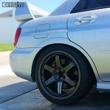 subaru impreza wheels 2004 subaru impreza volk te37 feal coilovers wheel offset 2014