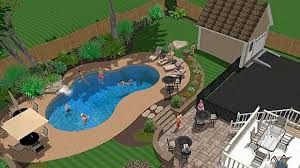Patio And Pool Designs Pool And Patio Decorating Ideas On A Budget Inground Swimming