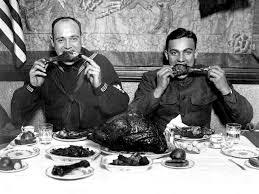 First Thanksgiving Feast Menu File Thanksgiving 1918 Jpg Wikimedia Commons