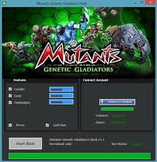 mutants genetic gladiators apk mutants genetic gladiators cheats hack tool no survey