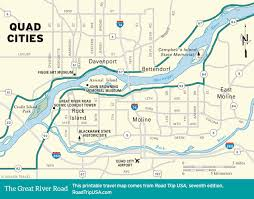 Wisconsin Scenic Drives Map The Great River Road Road Trip Usa