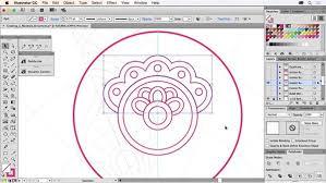 creating a mandala ornament design