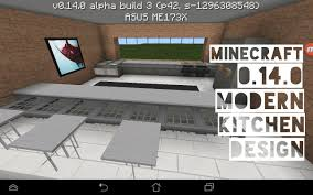 mcpe modern kitchen design 0 14 0 build 3 download youtube