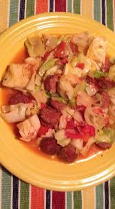 fried cabbage and sausage a simple recipe real food style grow