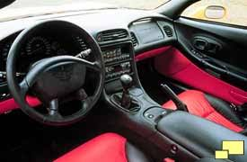 corvette c5 interior 2001 corvette c5 lightweight advantages visual clues and interior