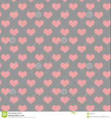 pink and grey pattern wallpaper grey and pink heart pattern stock illustration illustration of