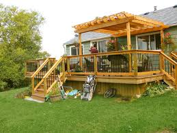 Wood Pergola Designs And Plans by Small Deck Pergola Designs Home Design Ideas Decks Pinterest