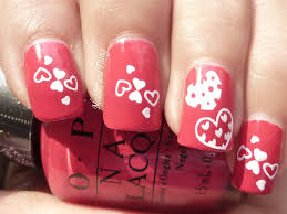 new special valentine nail art designs for 14th feb
