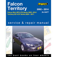 gregory u0027s car manual ford falcon territory 2002 2014 277