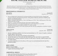bank teller resume examples bank teller resume resume templates