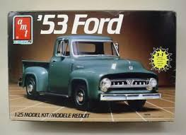 1953 ford truck parts amt ertl car truck vintage out of production plastic model kits