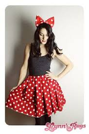 Minnie Mouse Costumes Halloween Minnie Mouse Dress Disney Spoopy Scary Skeletons