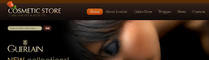 website template 28141 cosmetic store online custom website