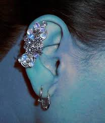 how to make feather ear cuffs the jewelry trend learn how to make ear cuffs