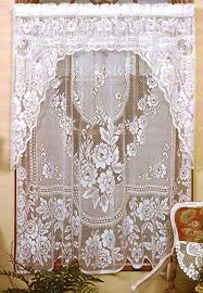 Fishtail Swags Valances Victorian Rose Is A Traditional Pattern Used Frequently In