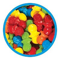 pacifier shaped candy oh baby pacifiers uncoated candy 13 500 ct sam s club