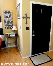 Painting Interior Doors by Black Door Take That Elizabeth Arden