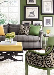 Hmmm Love The Grey Green Black For Living Room Color Palette - Green and yellow color scheme living room