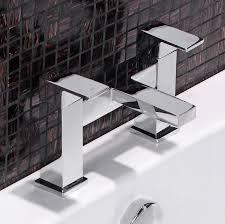 enki milan square design bathroom basin tap shower faucet set ebay